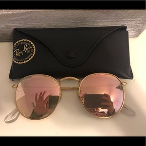 Ray ban round mirror sunglasses